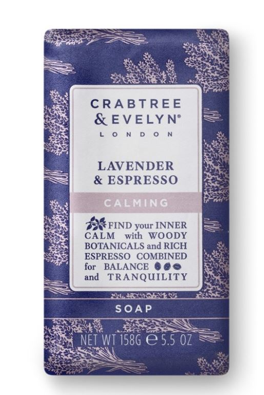 Lavender & Espresso Wrapped Soap 185 gr